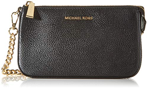 Michael Kors Chain Wallet Jet Set 32F7GFDW6L Nero Donna, Black,...