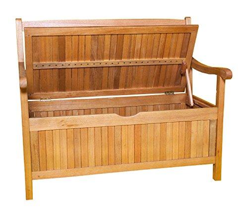 Gartenbank 3-Sitzer aus Akazienholz, 157cm - 2