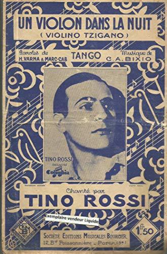 Un Violon dans la nuit (violino tzigano), tango chanté par Tino Rossi