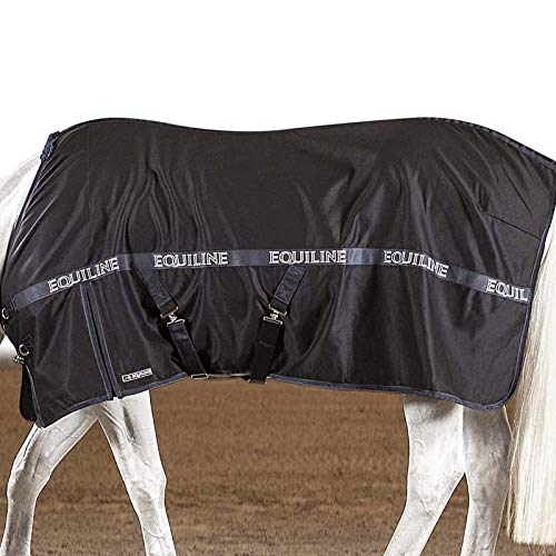 Equiline Decke aus Baumwolle für Box Modell Reynosa