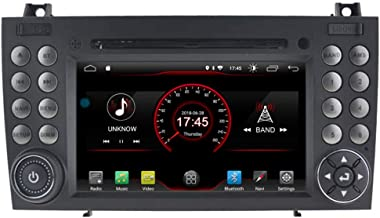 Autosion in Dash Android 9.1 Car DVD Player Radio Head Unit GPS Navi Stereo for for Mercedes-Benz SLK R171 W171 SLK350 SLK300 SLK280 2004-2011 Support Steering Wheel Control