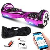Balance Scooter 6,5 Zoll 600W-Motion V.5 mit App Funktion, Bluetooth Lautsprecher, Kinder...