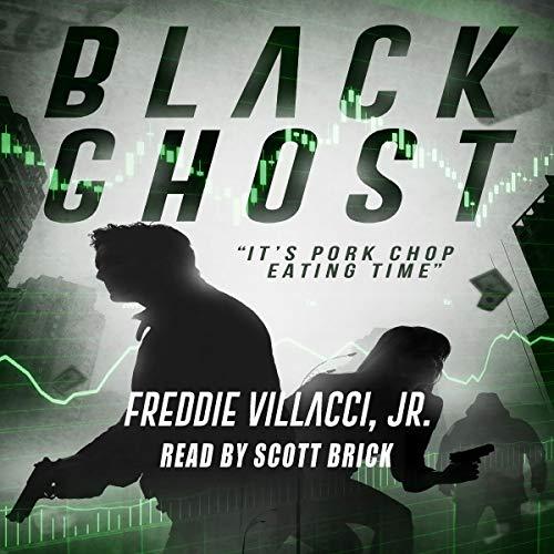 Black Ghost Audiobook By Freddie Villacci Jr. cover art
