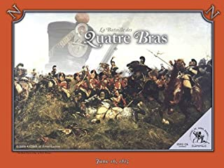 COA: La Bataille de Les Quatre Bras Boardgame (in the La Bataille game series), 3rd Edition