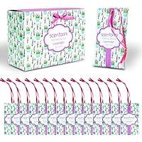 SCENTORINI 14 Piezas/Set Bolsita de Lavanda Bolsita de Lavanda Bolsitas para cajones y armarios, Aroma de Aceite Esencial de Lavanda Natural