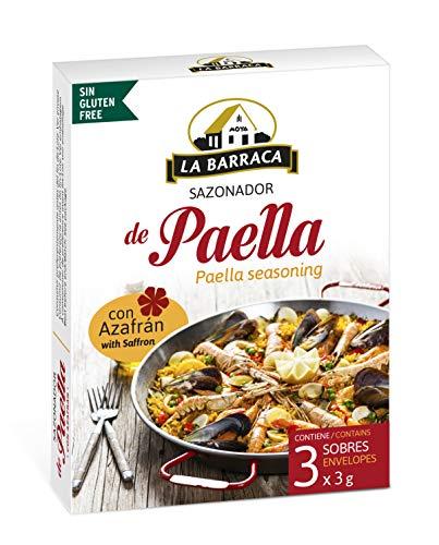 Paellagewürz mit Safran (3 Beutel) / Especias para paella con azafrán (3 sobres)