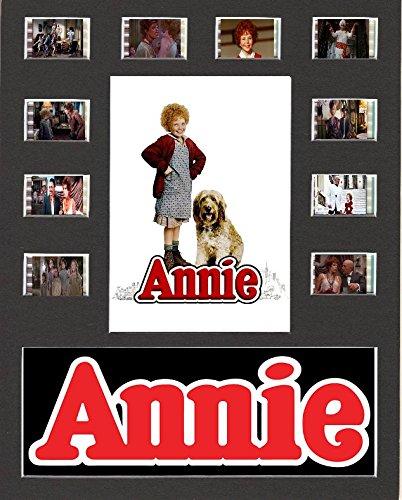 Annie (1982) visualización de películas Estilo celda 10 x 8 montado 10 Celdas, Enmarcado, 25,40 x 20,32 cm