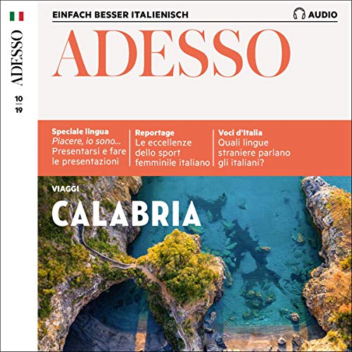 ADESSO Audio - Calabria. 10/2019 Titelbild