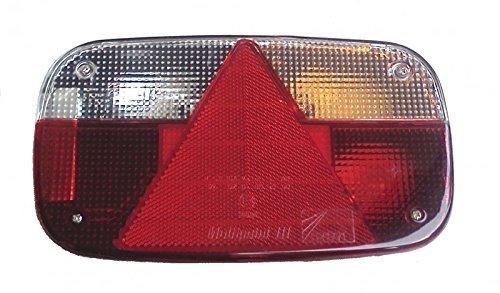 FKAnhängerteile Aspöck Multipoint 3 Lampe rechts, 7polig, Bajonettanschluss 24-8200-007