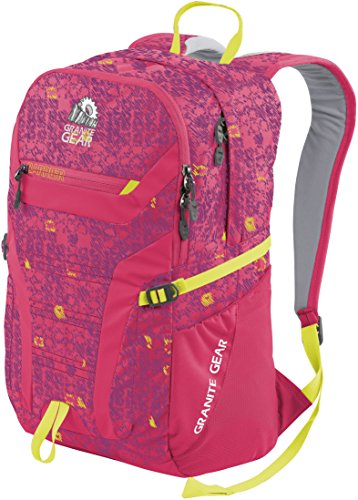 Granite Gear Campus Champ Backpack - Skribble Stars/Petal/Neolime