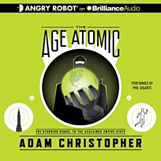The Age Atomic audiobook cover art