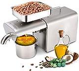 RBAYSALE 700W Oil Press Machine Home Automatic Oil...