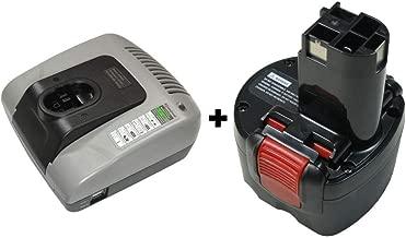 Ladeger/ät Ni-CD Ni-MH Ladeger/ät AL1411DV f/ür Bosch Elektrobohrer 7,2 V 9,6 V 12 V 14,4 V Instrumentenbatterie GSR7,2V GSR9,6V GSR12V GSR14,4V