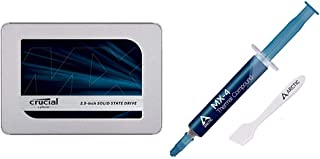 Crucial MX500 2TB 3D NAND SATA 2.5 Inch Internal SSD & Arctic MX-4 - Thermal Compound Paste for Coolers | Heat Sink Paste ...