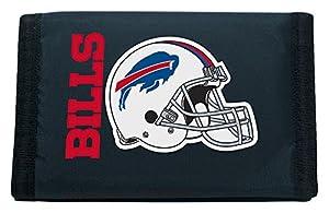 NFL Rico Industries Nylon Trifold Wallet, Buffalo Bills
