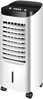 Móvil portátil refrigeradores evaporativos del acondicionador de aire del ventilador, Negativo purificación de iones humidificador 7,5 horas de sincronización 10L gran tanque de agua, acondicionador d
