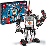 Build and program walking, talking and thinking robots that do anything you can imagine Includes Intelligent EV3 Brick and three servo motors, plus colour, touch and IR sensors SPIK3R is over 41cm high, 38cm long and 40cm wide LEGO MINDSTORMS buildin...