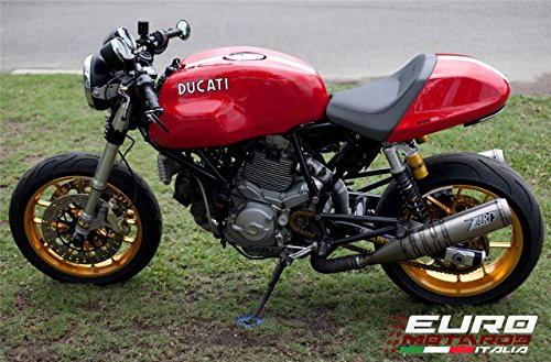 Ducati GT 1000 Zard Silenziatori Bassi Inox con Saldatura Spicchi Exhaust