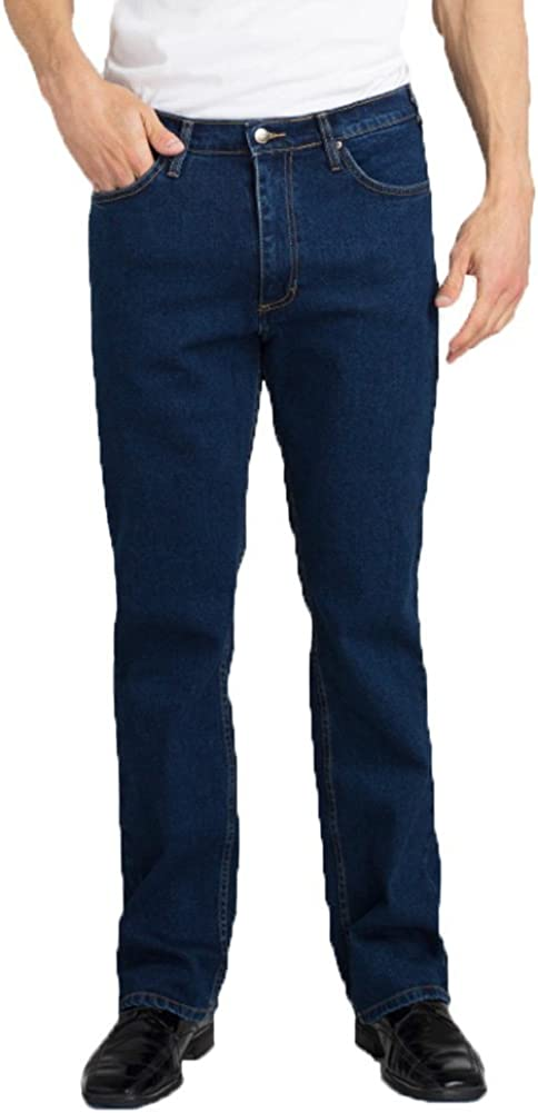 New product type Grand Regular discount River Stretch Jean Blue