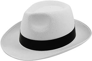 Sombrero de fieltro de Al Capone de estilo Michael Jackson