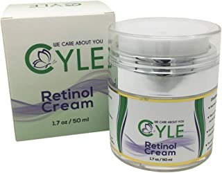 Cyle Organic Anti-Wrinkle Anti-Aging Retinol Cream