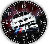 W005 Wanduhr, für BMW M-Serie, 25,4 cm