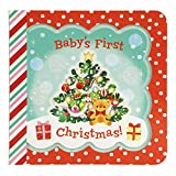 Baby's First Christmas: Greeting Card Book With Envelope and Decorative Foil Seal (Little Bird Greetings Keepsake Book)