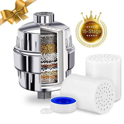 Filtri acqua per soffione doccia 15 fasi con cartuccia universale multi-fase di ricambio per filtro doccia