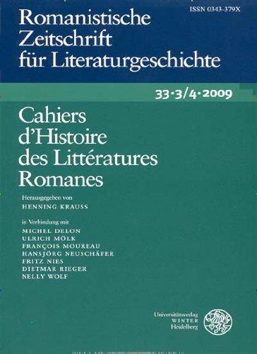 Romanistische Zeitschrift für Literaturgeschichte/Cahiers d´Histoire des Littératures Romanes [Jahresabo]