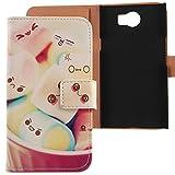 Lankashi PU Flip Leder Tasche Hülle Hülle Cover Schutz Handy Etui Skin Für BlackBerry Priv STV100-1 5.4