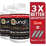 Qunol Ultra CoQ10 100mg, 3x Better Absorption, Patented Water and Fat Soluble Natural Supplement Form of Coenzyme Q10, Antioxidant for Heart Health, 240 Count Softgels