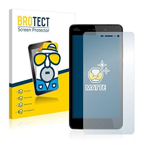 BROTECT 2X Entspiegelungs-Schutzfolie kompatibel mit Wiko Pulp Fab 4G Bildschirmschutz-Folie Matt, Anti-Reflex, Anti-Fingerprint