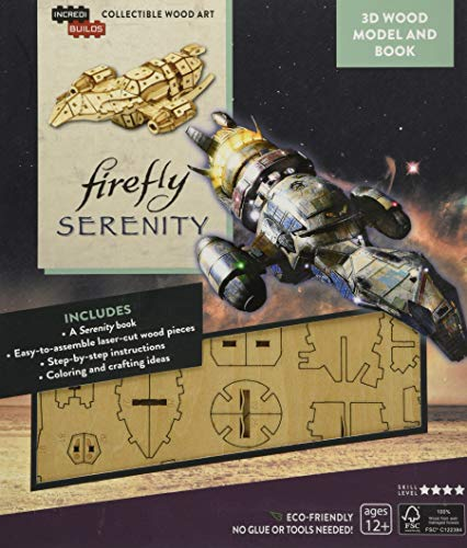 IncrediBuilds: Firefly: Serenity 3D Wood Model and Book
