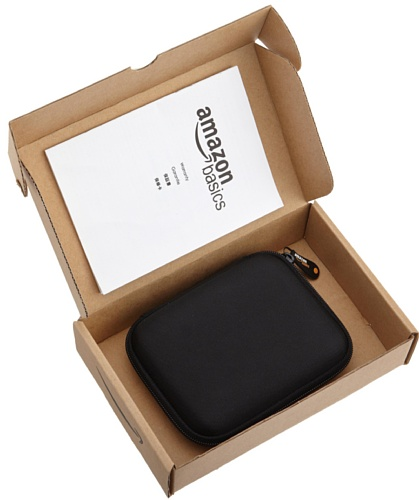 Seagate Desktop Drive 8000 GB, 8 TB, Externe Festplatte, 3.5 Zoll, USB 3.0, PC & Notebook, Xbox & PS4, Modellnr.: STGY8000400 & Amazon Basics Festplattentasche, schwarz