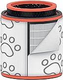 Leitz Trusens, Filtro de Tambor HEPA 3 en 1 Lavable, Filtro HEPA y de Carbón para Purificadores de Aire Leitz Z-3000/Z-3500, Captura Pelos de Animal, Malos Olores y Otras Partículas, 2415131