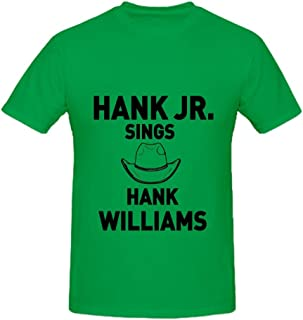 Hank Williams Songs Like Cold Cold Heart, I'm So Lonesome I Could Cry, and More Tour Electronica Mens O Neck Big Tall Shirts