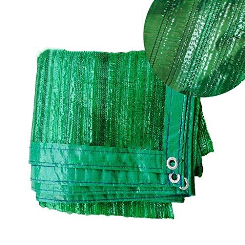 GJM Shop Filet D'ombre Cryptage À Broches Plates Vertes Filet Solaire Remise De Voiture Abaisser La Température Filet D'isolation (Taille : 2 * 9m)