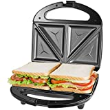 Tostiera Sandwich Maker, Piastra Per Sandwich Toast 2 Posti, Cool Touch...