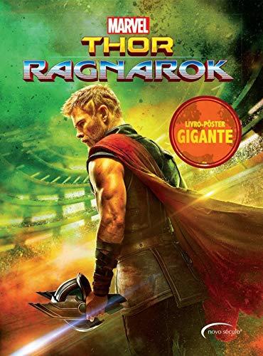 Thor Ragnarok: livro-pôster gigante