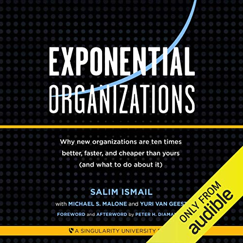 Exponential Organizations audiobook cover art