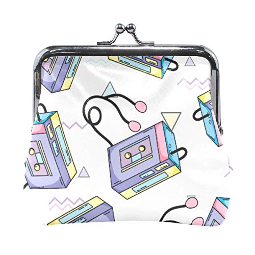 Art Background Portamonete Pochette Borsa da donna Portafoglio femminile Porta monete Cambio carta Holder-91-XA