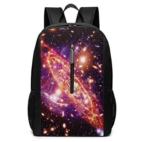 School Travel Business Bag Laptop BackpackMarvellous Black and White High School Backpack Shoulder Bookbags Bag for Womens Mens Kids 17'