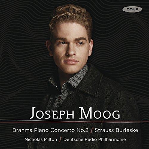 Strauss/Brahms: Burleske für Klavier & Orchester / Klavierkonzert Nr. 2