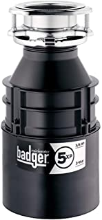 InSinkErator Badger 5XP 3/4 HP Household Garbage Disposer ,Grey (Renewed)