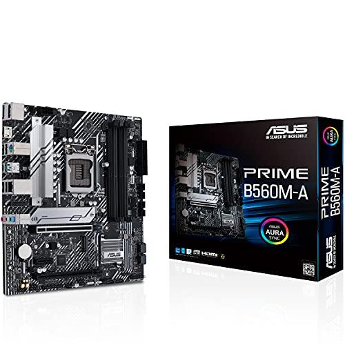 ASUS Intel 11世代CPU(LGA1200)対応 B56 チップセット microATX マザーボード PRIME B560M-A【国内正規代...