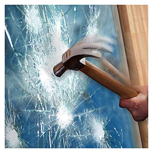 BDF S8MC Window Film Security and Safety Clear 8 Mil (24in X 49ft)