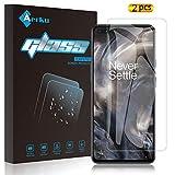 Aerku Pellicola Vetro Temperato per Oneplus Nord 5G[2 Pezzi], 2.5D Ultra Sottile HD Anti Graffi...