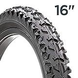 Schwinn Replacement Bike Tire, Mountain Bike, 16 x 1.95-inch