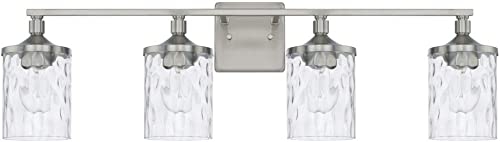 high quality HomePlace lowest 128841BN-451 Colton Vanity, 4-Light outlet sale 400 Total Watts, Brushed Nickel outlet sale