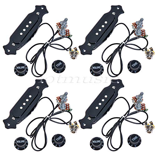 Trust Guitar Parts 4sets Pre-Wired Pickup Box Electric Regular store 4-String